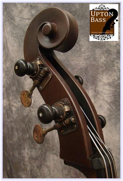Individual Antiqued Ebony Peg Bass Tuning Machines