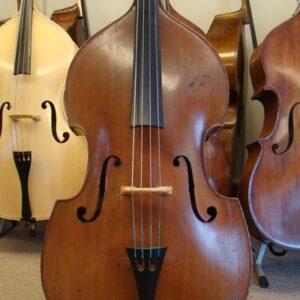 """SOLD! Alfons Vavra Czech """"Flat-Back"""" Double Bass"""