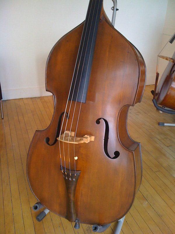 SOLD! Austrian Double Bass CA 1880