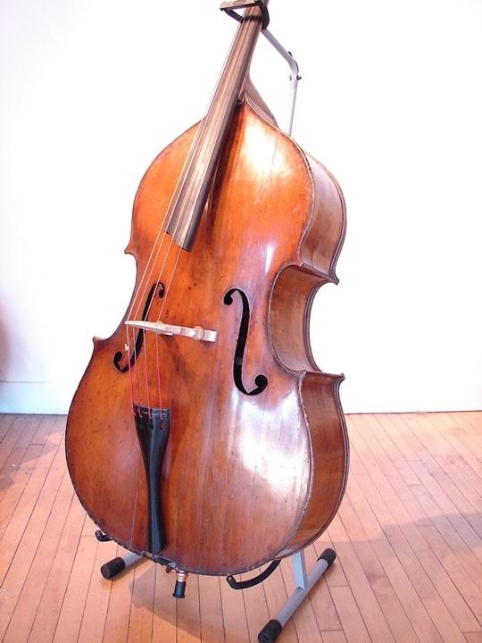 SOLD: John Juzek 7/8 size Double Bass Prauge