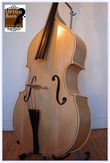 SOLD! Engelhardt Bluegrass Deluxe Blond Double Bass