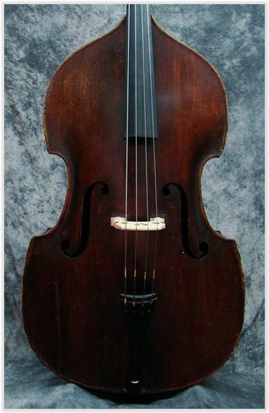SOLD: John Juzek MASTER ART Double Bass Prague CA 1930
