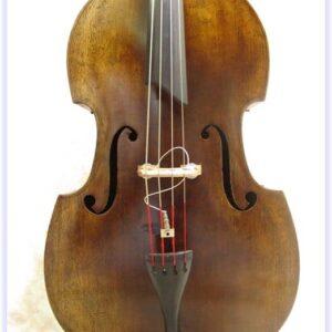 SOLD: John Juzek Flat Back Double Bass