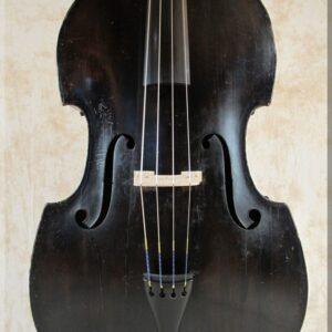 """SOLD: John Juzek Prague """"Master Art"""" Double Bass 1930s"""
