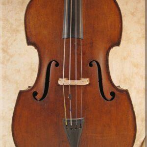 SOLD: John Juzek Prague Master Art Double Bass 1933