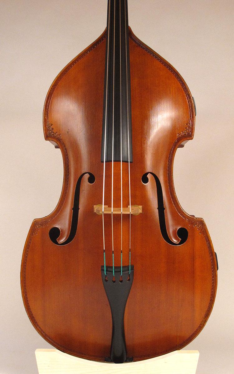 Pollmann Double Bass 1973 Upton Bass String Instrument Co