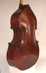 Kai Arvi Double Bass 1982 back angle
