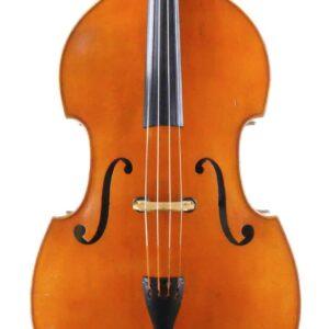 Herbert Dittrich double bass Front